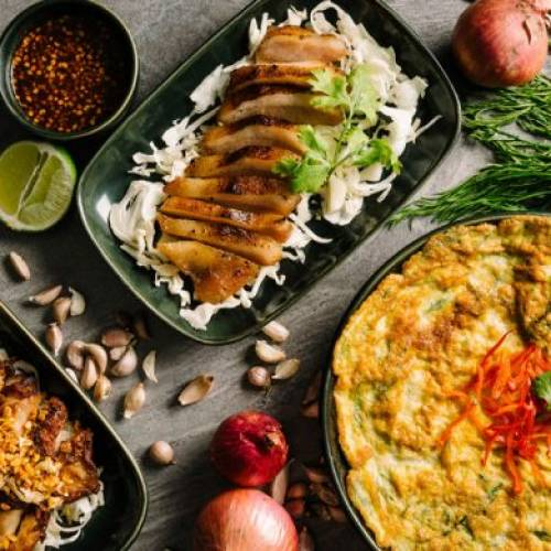 The History of Thai Food