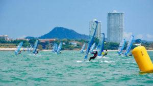Thailand Windsurfing Championship 2019 @ Jomtien Beach