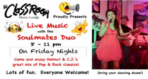 Soulmates Duo - Live Music @ The Classroom